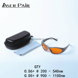Laser Safety Glasses Protect 200nm-532nm & 900-1700nm Special for 532nm & 1064nm Meet CE EN207