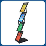 A4 Free Standing Brochure Holder Magazine Stand