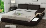 Hotel Furniture Modern Style Leather Bed