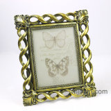 Resin Antique Gold Baroque Photo Frame