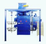 Double Hook Through Shot Blasting Equipment/Dustless Sandblaster