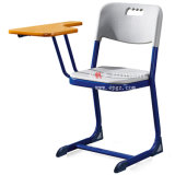 Modern High School Furniture Classroom College Student Study Chairs with Writing Pad