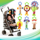 Baby Toys Soft Musical Toys Animal Baby Mobile Stroller Toys Plush Playing Doll
