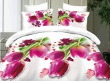 Elegant Flower Printing Colorful Magic Zhejiang Wholesale 3D Bedding Sets