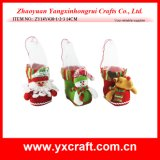 Christmas Decoration (ZY14Y438-1-2-3 14CM) Christmas Factory Boot Item Design