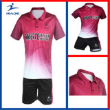 China Wholesale Sport Wear Sublimation Table Tennis Jerseys