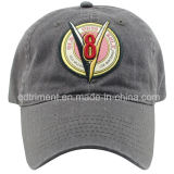 Washed Brushed Cotton Twill Embroidery Sport Baseball Cap (TMB9123-1)