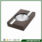 Handmade Rectangle Promotional Wood Cigarette Ashtray