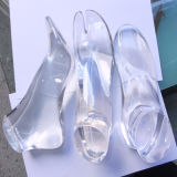 Clear Exquisite Resin Foot Lucite Foot Acrylic Foot Mannequin Display (HY-AFM002)