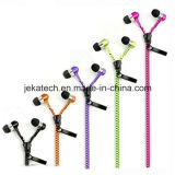 Factory Price Colorful Zipper Earphone