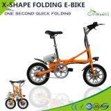 14 Inch Al Alloy Mini City Folding Electric Bicycle