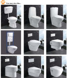 Super White Clean Two Piece Toilet Bathroom Creamic Sanitary Ware
