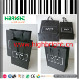 Fashion Design Strong Craft Paper Shopping Bag for Cosmetics