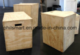Crossfit Training Wood Plyometric Jump Plyo Box