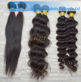 Color 1b Loose Wave Russian Fede Jumbo Braiding Hair Bulk