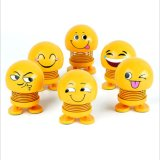 Car Decoration Jewelry Spring Shaking Head Doll Expression Pack Gift