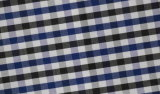 Charcoal/Navy Checks Chequer Comfortable Polyester Cotton Shirt Fabric