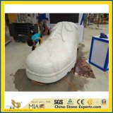 Natural Castro White Marble Carving/Statue/Granite Stone Sculpture for Plaza/Garden/Decoration
