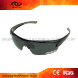 Cheap Wholesale Custom Logo Black Polarzied Running Cycling Sun Glasses