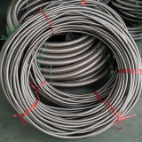 Corrugated Braiding Flexible Metal Hose with Flange/Fittings