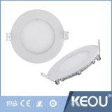 3W 4W 6W 9W 12W Round Untra Slim LED Panel Lighting Manufacturer Price Guangzhou