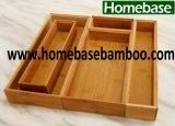 Bamboo Organizer Stackable Box Drawer Box Pileup Box