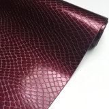 Snake Design PU Leather for Shoes Bags