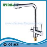 Hot Sale Zinc Sink Faucet Bathroom Accessory Single Handle (FT823)
