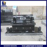 American Style New Design Black Granite Memorial Bench