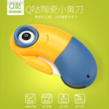 Amazon Hot Sale Cute Ceramic Knife Pocket Knife Minions Shape Folding Knife 2inch Fruit Knife