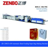 Automatic Paper Bag Making Machine with Top Fold (ZB1200CS-430)