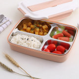 BPA Free High Resistant Microwave Safe Stainless Steel Lunch Box