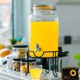 Best-selling Glass Mason water Jar Beverage Dispenser