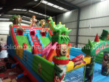 Best Selling Cartoon Inflatable Castle Amusement Inflatable Playground Amusement Park Inflatables