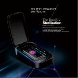 Aromatherapy Function UV LED Disinfector Mobile Phone Sanitizer