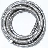 4an 6an 8an 10an 12an 16an Black Nylon Stainless Steel Braided Fuel Oil Cooler Hose Tube for Auto Car/ Stainless Steel Oil Cool