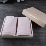 Pink Cotton Hand Towel Gift Packing Ideas for Wedding