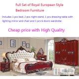 Luxury European Palatial Wooden Home Master Royal Bedroom Furniture Set