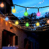 Solar Powered Energy-Saving LED String Light Christmas Decoration String Light LED Wedding Party Decorative Lighting Bulbs Garden Waterproof Decorative Lamps