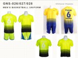 Men′s Customized Multi-Color Poly/Spandex Sportswear Basketball Uniform Sports Wear