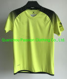 Customized 100% Polyester V-Neck Soccer Wear for Men Sportswear