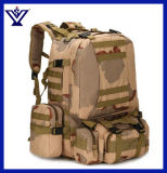 New Bagpack Mountain Backpack Tool Bags Outdoor Adventure Army Travelling Waterproof Tactical Military Hiking Backpack (SYSG-1813)