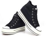 High-Cut Shoes Canvas Shoes Wholesale Cheap China Men Canvas Running Shoe