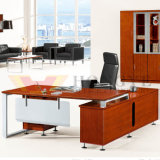 Wooden Panel Metal Foot General Manager Office Furniture (HY-D0618)
