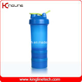 600ml plastic shakers with stainless blender mixer ball (KL-7050)