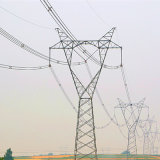 500 Kv Linear Cup-Shaped Power Transmission Steel Tower