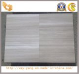 Polished White Wood Grainy Marble for Floor&Wall Tiles