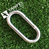 5*50 Zinc Plated Straight Snap Hook
