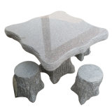 Granite Stone Table and Chair Garden Furniture