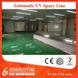 Automatic UV Spray Line/UV Paint Spraying Machine/ UV Coating Metalizing for Cosmetic Caps ABS/PP Material Plastic Ultraviolet Spraying Machine